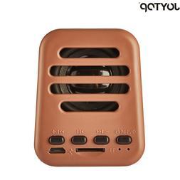 JOYTOP New bluetooth speaker <font><b>Vintage</b></font> Min
