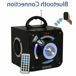 New Boytone BT-32D Portable Bluetooth FM Radio Stereo speake