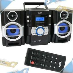 NEW NAXAFM Radio/CD/MP3 Player Portable Stereo Speaker She