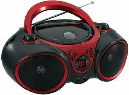 NEW JENSEN Portable Stereo Boombox Stereo CD Player System