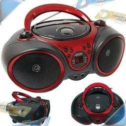 NEW JENSEN Portable Stereo Boombox Stereo CD Player System w