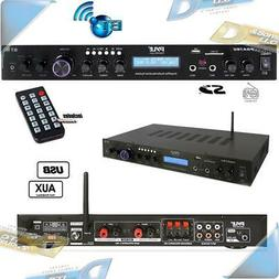 NEW Pyle Rackmountable Home Theater Audio FM Receiver Stereo