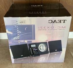 New Sealed TEAC MC-DX32i AM-FM/CD PLAYER/iPOD DOCK HI-FI STE