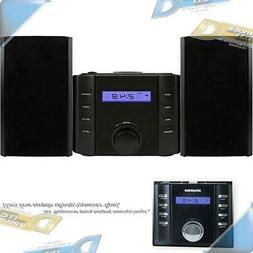 NEW SYLVANIA Wireless B/T CD Micro Stereo Shelf System w/ AM