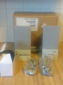 NOS Pair Vintage IBM Desktop Computer PC Powered Speakers Au