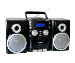 Naxa Npb426 Portable CD Player With Am/Fm Radio, Cassette &