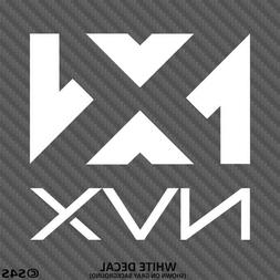 NVX Audio Car Stereo System Subwoofers Vinyl Decal Sticker -
