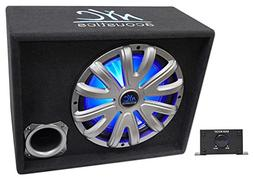 """NYC Acoustics NSE12L 12"""" 1200W Powered/Amplified Car Subwoof"""