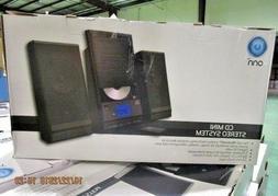 ONN ONA17AA015 CD Mini Stereo System W/ Bluetooth Wireless F
