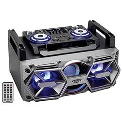 Jensen All-In-One Bluetooth Wireless Radio Mega Bass Stereo