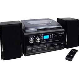 Jensen All-In-One Hi-Fi Stereo Dual CD Player Turntable & Di