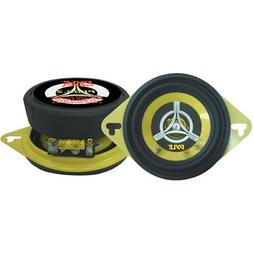 """Pair 3.5"""" inch 3 1/2"""" Car Audio 2-Way Stereo Sound Front Das"""