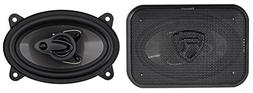 "Pair Rockville RV46.3A 4x6"" 3-Way Car Speakers 500 Watts/70"