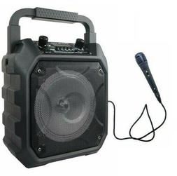 Party Speaker System BLUETOOTH Big Led Portable Stereo Tailg