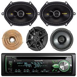 Pioneer DEH-S4000BT Car Bluetooth Radio USB AUX CD Player Re