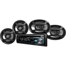 Pioneer DXT-X4969BT  Bluetooth CD Car Stereo Receiver Bundle