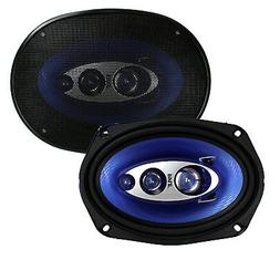 """6"""" x 9"""" Car Sound Speaker  - Upgraded Blue Poly Injectio"""