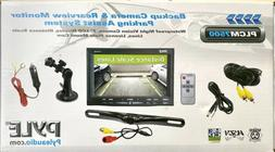 Pyle PLCM7500 for Vehicle LCD Suction Cup Monitor w/ License