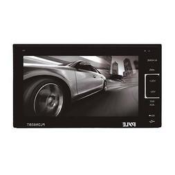 Pyle PLDN63BT 6.5 Touch Screen Display Car CD DVD USB Blueto