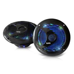 Pyle Hydra PLMR6LEB Speaker - 150 W PMPO - 2 Pack - 45 Hz to