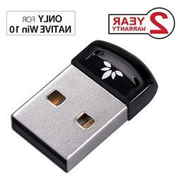 Avantree DG40SA Plug & Play Bluetooth 4.0 USB Dongle Adapter