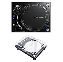 Pioneer PLX-1000 Turntable + Decksaver DS-PC-SL1200 Bundle