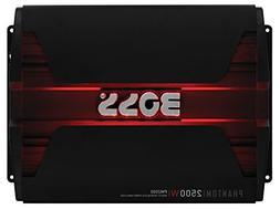 BOSS AUDIO PM2500 Phantom 2500-Watt, 2/4 Ohm Stable Class A/