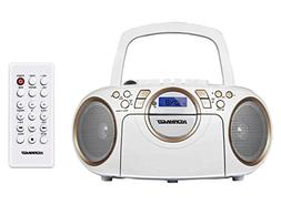 Koramzi Portable CD Boombox Full Range Stereo Sound System w