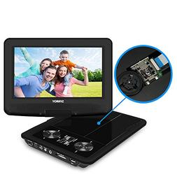 "SYNAGY 9"" Portable DVD Player CD Player with Swivel Screen R"