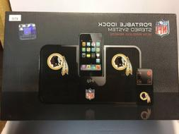 Portable IDock Stereo Speakers System Washington Redskins Lo