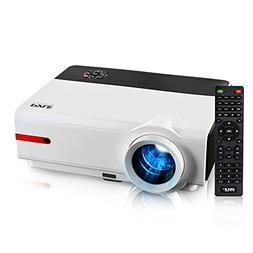 """Updated Pyle Video Projector 5.8"""" LCD Panel LED Lamp Cinem"""