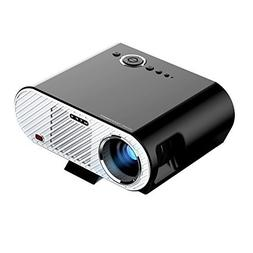 MTFY Projector-3200 Lumens Portable LED HD 1080P Video Proje