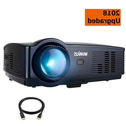 Projector, WiMiUS Upgraded T4 3500 Lumens Home Theater Proje