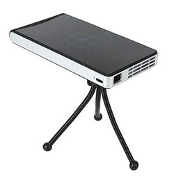 Duoying LED Video Projector,Android 4.4 system,HD 1080P WIFI