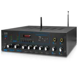 Pyle PT506 600 Watt Audio Powered Amplifier & Bluetooth Rece