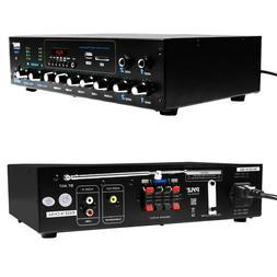 Pyle PT506BT Audio Powered Amplifier &Bluetooth Receiver Ste