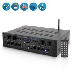 Pyle PTA44BT 4-Ch. Bluetooth Amplifier Stereo Receiver Syste