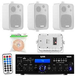 pyle pda6bu 200 watt 2 channel digital usb aux radio stereo