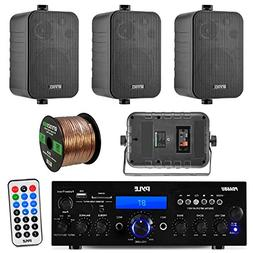 Pyle PDA6BU 200-Watt 2-Channel Digital USB/AUX FM Radio Ster