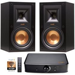 Klipsch R-15M Bookshelf Speakers and Powergate Amplifier Bun
