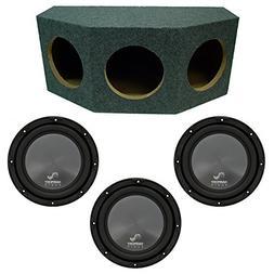 "Harmony Audio R124 Triple 12"" Subwoofer Loaded 1800 Watt Sub"