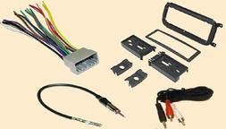 Radio Stereo Install Dash Kit + wire harness + antenna adapt