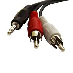 ReadyPlug RCA to 3.5mm Audio Cable for: Panasonic 5.1 Channe