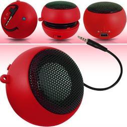 N4U Online Online Red Super Sound Rechargeable Mini Pocket S