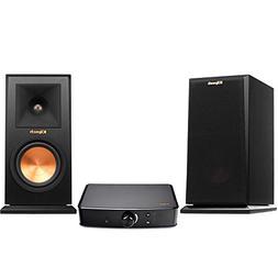 Klipsch RP-150M Bookshelf Speakers - Ebony  & Klipsch PowerG