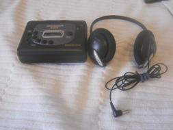 Panasonic RQ V201 Stereo Radio Cassette Auto Reverse XBS Pla