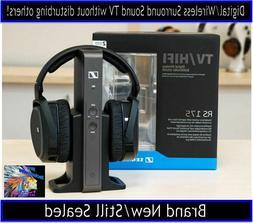 *SENNHEISER RS 175 RF Wireless Stereo Headphone System for T