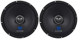 "Rockville RXM88 8"" 500w 8 Ohm Mid-Range Drivers Speakers, M"