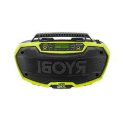Ryobi P746 One+ 18-Volt Li-Ion /AC Dual-Powered AM/FM Stereo