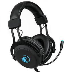 NPET S018 Pro 7.1 Chroma Gaming Headphone with Sound and USB